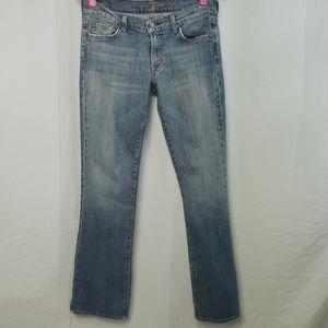 ❤7 For All Man Kind Bootleg Denim Jeans Vintage